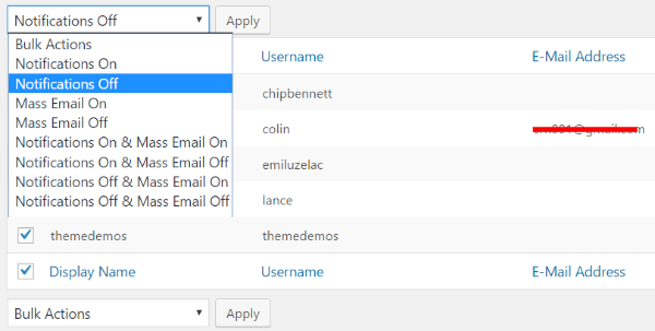 other email features